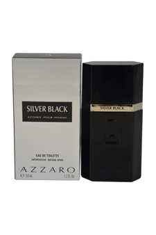 Loris Azzaro Silver Black  men 1.7oz Aftershave