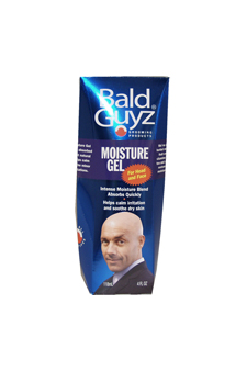 Moisture Gel For the Bald Head Mens by Bald Guyz for Men - 4 oz Gel