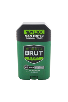24 Hour Protection with Trimax Antiperspirant & Deodorant by Brut for Men - 2 oz Deodorant