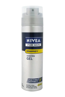 Nivea for Men Q10 Double Action Revitalizing Shaving Gel by Nivea for Men - 7 oz Gel