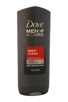 Deep Clean Body and Face Wash by Dove for Men - 13.5 oz Body Wash
