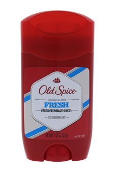 High Endurance Deodorant Long Lasting Stick Fresh by Old Spice for Men - 2.25 oz Deodorant