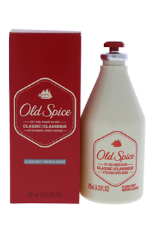 Classic After Shave by Old Spice for Men - 4.25 oz After Shave