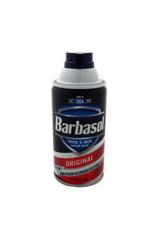Original Thick & Rich Shaving Cream by Barbasol for Men - 10 oz Shaving Cream