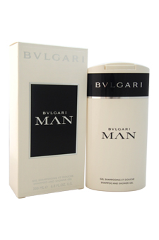 Bvlgari Man by Bvlgari for Men - 6.8 oz Shampoo and Shower Gel