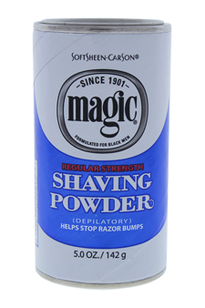 Magic Shaving Powder, Regular Strength by Soft Sheen Carson for Men - 5 oz Shave Powder