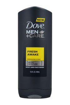 Men + Care Fresh Awake Energizing Scent Body And Face Wash by Dove for Men - 13.5 oz Body And Face Wash