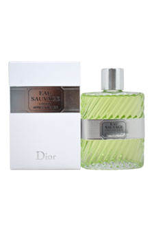 Christian Dior Eau Sauvage  men 3.4oz Aftershave