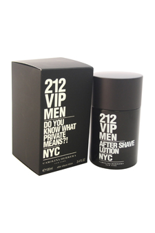 Carolina Herrera 212 VIP  men 3.4oz Aftershave