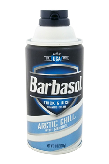 Arctic Chill With Menthol Thick & Rich Shaving Cream