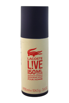Lacoste Live by Lacoste for Men - 3.6 oz Deodorant Stick