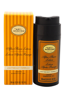After-Shave Lotion - Lemon by The Art of Shaving for Men - 3.3 oz After-Shave Lotion