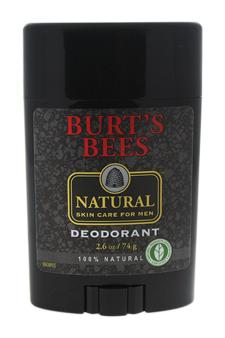 Natural Skin Care For Men Deodorant by Burt's Bees for Men - 2.6 oz Deodorant Stick