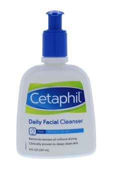 Daily Facial Cleanser From Normal to Oily Skin for Unisex Cleanser