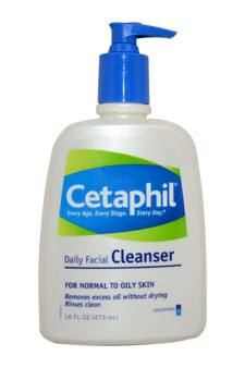 Daily Facial Cleanser For Normal to Oily Skin for Unisex - 16 oz Cleanser