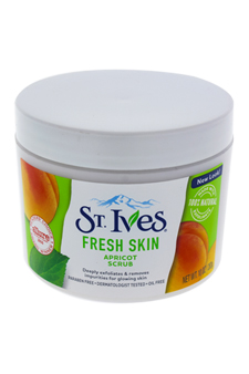 Fresh Skin Invigorating Apricot Scrub by St. Ives for Unisex Scrub