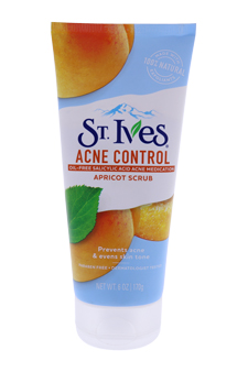 Naturally Clear Blemish & Blackhead Control Apricot Scrub by St. Ives for Unisex - 6 oz Scrub