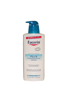 Plus Dry Skin Therapy Intensive Repair Enriched Lotion by Eucerin for Unisex Lotion