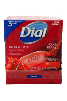 Cranberry & Antioxidant Glycerin Soap by Dial for Unisex Soap