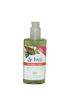 Naturally Clear Green Tea Cleanser by St. Ives for Unisex - 6.75 oz Cleanser