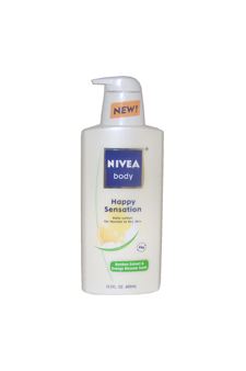 Body Happy Sensation Lotion by Nivea for Unisex - 13.5 oz Lo