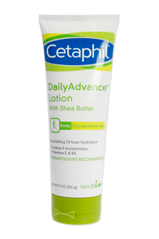 Daily Advance Ultra Hydrating Lotion by Cetaphil for Unisex Lotion