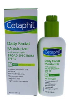 Daily Facial Moisturizer by Cetaphil for Unisex Moisturizer
