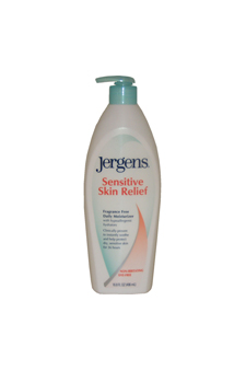 Sensitive Skin Relief Fragrance Free Daily Moisturizer by Jergens for Unisex Moisturizer