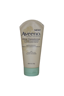 Active Naturals Clear Complexion Cream Cleanser by Aveeno for Unisex Cleanser