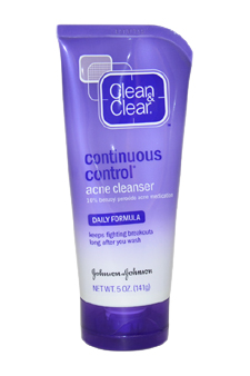 Daily Formula Continuous Control Acne Cleanser by Clean & Clear for Unisex Cleanser