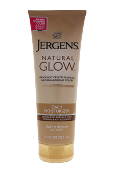 Natural Glow Revitalizing Daily Moisturizer for Fair to Medi ...