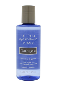 Oil-Free Eye Makeup Remover by Neutrogena for Unisex - 5.5 oz Makeup Remover
