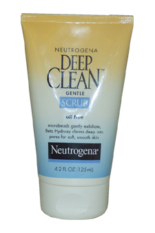 Oil Free Deep Clean Gentle Scrub by Neutrogena for Unisex - 4.2 oz Scrub