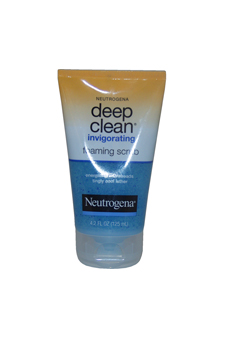 Deep Clean Invigorating Foaming Scrub by Neutrogena for Unisex - 4.2 oz Scurb