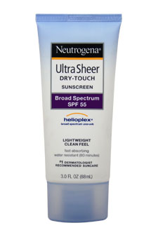 Ultra Sheer Dry-Touch Sunblock SPF-55 by Neutrogena for Unisex Sunblock