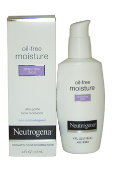 Sensitive Skin Oil-Free Facial Moisturizer by Neutrogena for Unisex - 4 oz Moisturizer