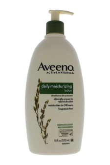 Active Naturals Daily Moisturizing Lotion by Aveeno for Unisex - 18 oz Lotion