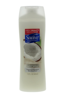 Suave Naturals Tropical Coconut Pampering Body Wash by Suave for Unisex - 12 oz Body Wash