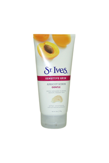 Sensitive Skin Gentle Apricot Scrub by ST. Ives for Unisex Scrub