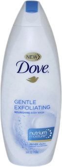 Gentle Exfoliating Nourishing Body Wash with NutriumMoisture by Dove for Unisex Body Wash