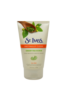 Naturally Clear Green Tea Scrub by St. Ives for Unisex - 4.5 oz Scrub