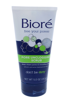 Pore Unclogging Deep Cleansing Scrub for Unisex - 5 oz Scrub