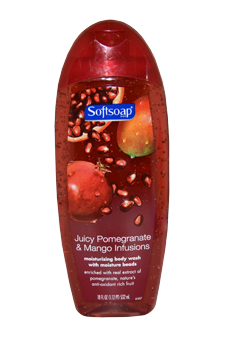 Juicy Pomegranate & Mango Infusions Moisturizing Body Wash for Unisex Body Wash