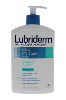 Daily Moisture Lotion Normal to Dry Skin Sensitive for Unisex Lotion