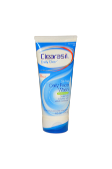Daily Face Wash Sensitive Formula by Clearasil for Unisex Face Wash