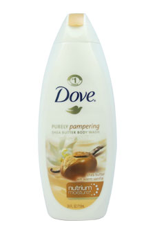 Shea Butter Cream Oil Body Wash by Dove for Unisex - 24 oz Body Wash