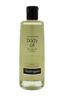 Body Oil - Light Sesame Formula by Neutrogena for Unisex - 8.5 oz Oil