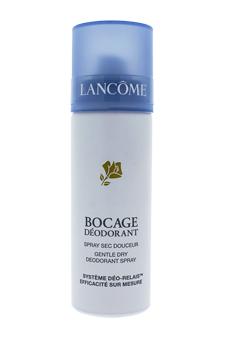 Bocage Gentle Dry Deodorant Spray by Lancome for Unisex - 4.2 oz Deodorant Spray