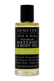 Jasmine by Demeter for Unisex - 2 oz Massage & Body Oil