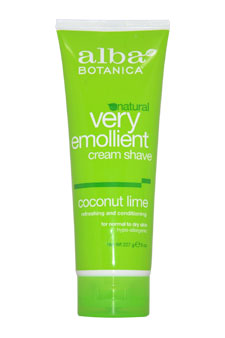 Very Emollient Cream Shave - Coconut Lime